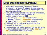 drug development strategy