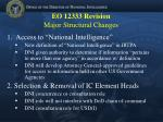eo 12333 revision major structural changes