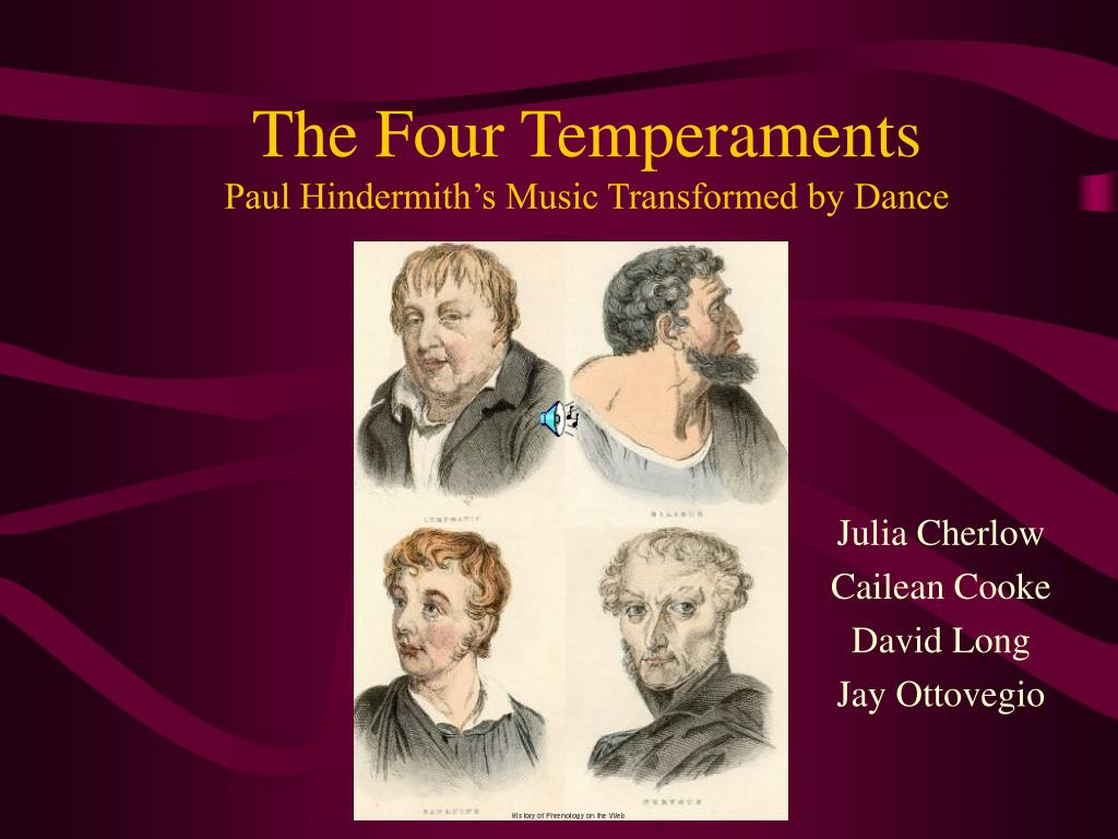 the four temperaments paul hindermith s music transformed by dance l.