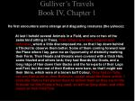 gulliver s travels book iv chapter 11