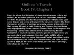 gulliver s travels book iv chapter 15