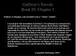 gulliver s travels book iv chapter 34
