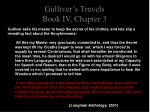 gulliver s travels book iv chapter 35