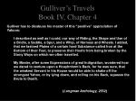 gulliver s travels book iv chapter 42