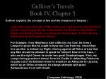 gulliver s travels book iv chapter 56