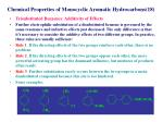 chemical properties of monocyclic aromatic hydrocarbons 18