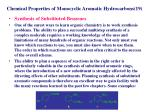 chemical properties of monocyclic aromatic hydrocarbons 19