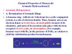 chemical properties of monocyclic aromatic hydrocarbons 2