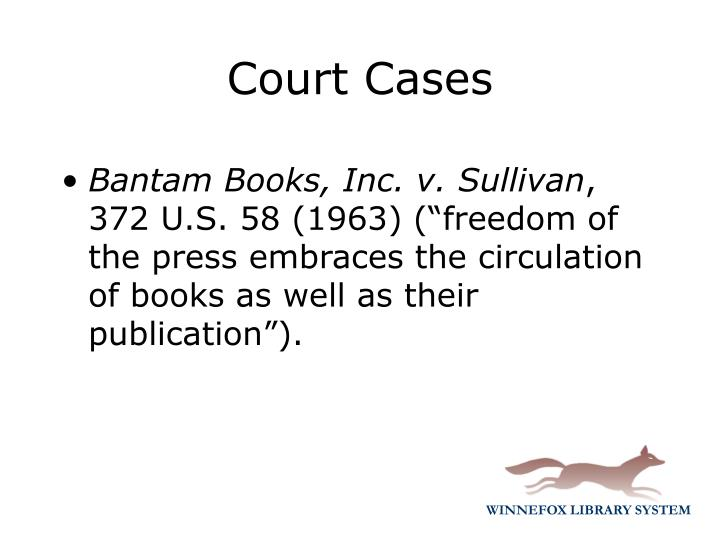 Bantam Books, Inc. v. Sullivan