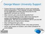 george mason university support