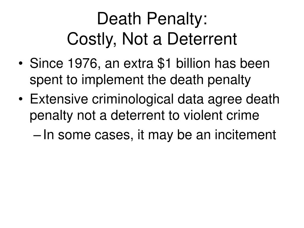 death penalty not an answer to all crimes Example academic essay: the death penalty the restoration of the death penalty for serious crimes is an issue summarises the main points and gives an answer.