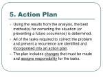5 action plan