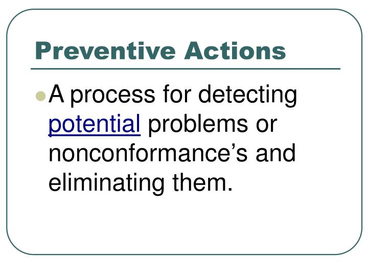 ppt corrective and preventive actions capa www rmbimedical com rh slideserve com Preventive Action Request Form ISO Corrective and Preventive Action