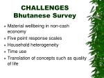 challenges bhutanese survey