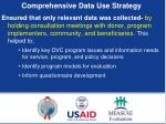 comprehensive data use strategy1