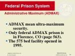 federal prison system30