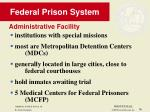 federal prison system36