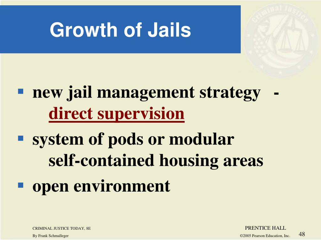 new jail management strategy -