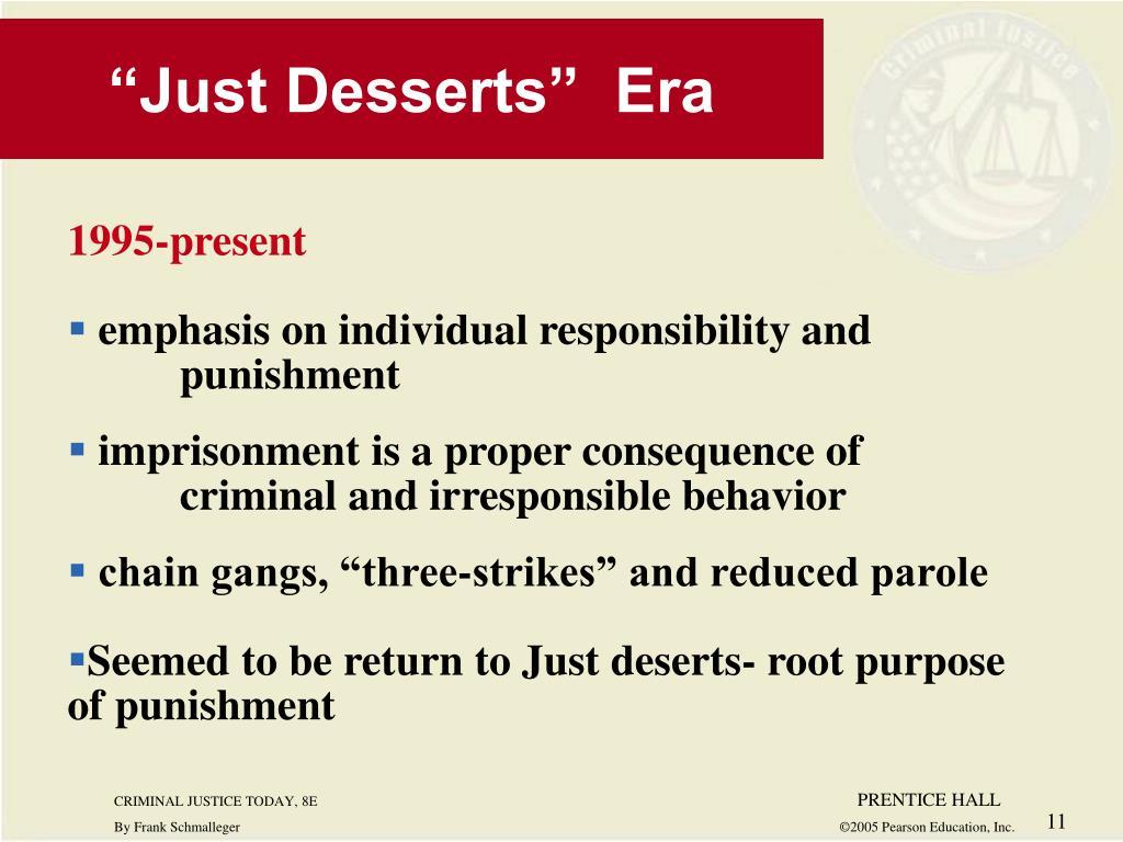 """Just Desserts""  Era"