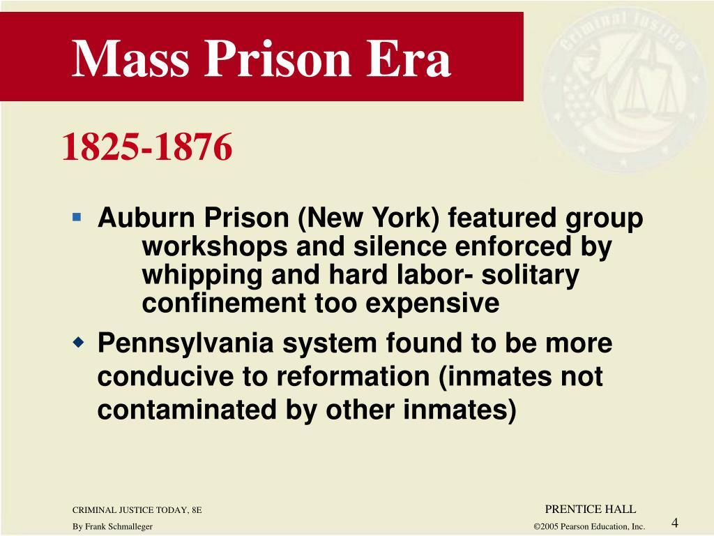 Mass Prison Era