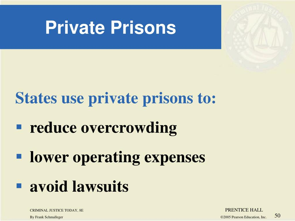 States use private prisons to: