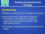 reading comprehension strategy6