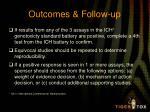 outcomes follow up