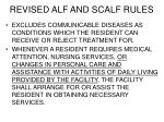 revised alf and scalf rules5