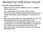 revised alf and scalf rules6