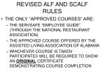 revised alf and scalf rules7