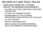 revised alf and scalf rules9