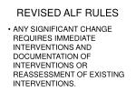 revised alf rules2