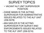 survey topics1