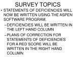 survey topics3