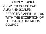 survey topics4