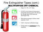 fire extinguisher types cont1