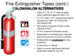 fire extinguisher types cont2