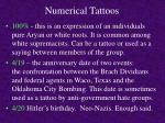 numerical tattoos21