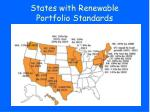 states with renewable portfolio standards