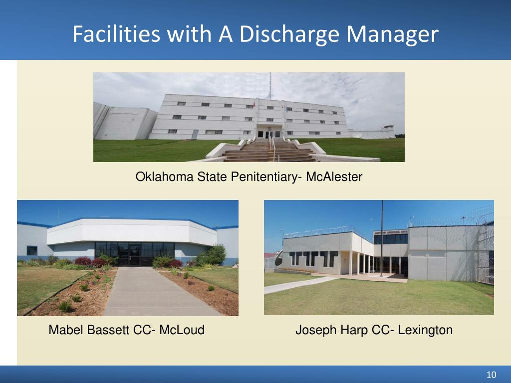 Facilities with A Discharge Manager