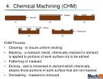 4 chemical machining chm