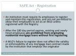 safe act registration1