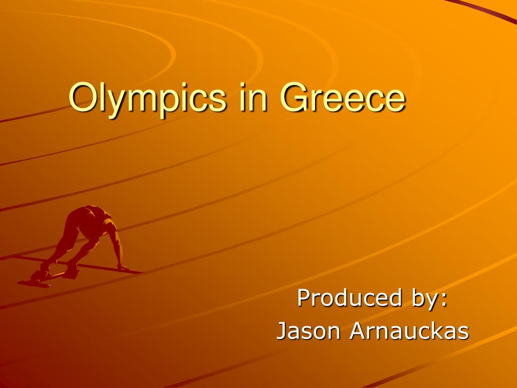 olympics in greece