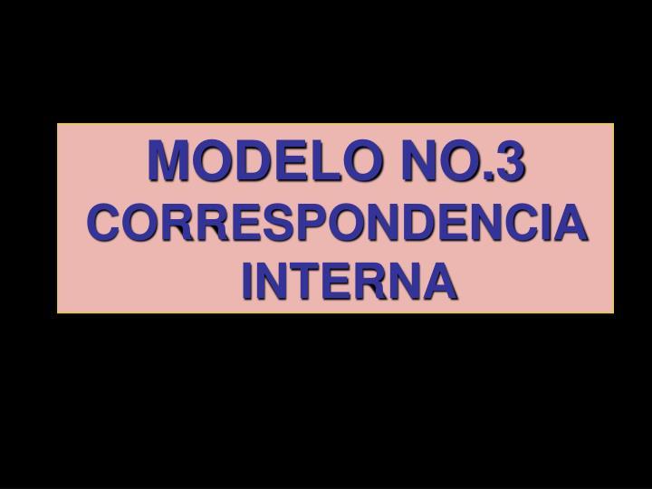 MODELO NO.3