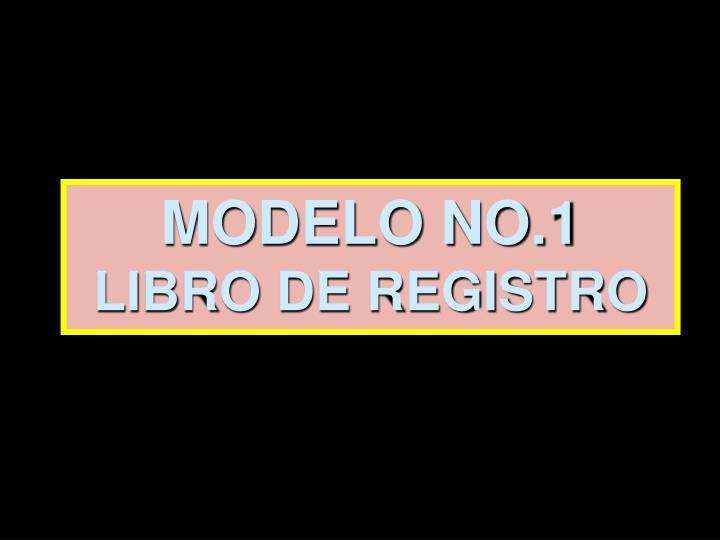 MODELO NO.1