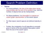 search problem definition14