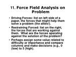 11 force field analysis on problem