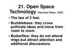 21 open space technology harrison owen 19972