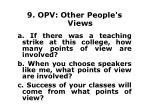 9 opv other people s views