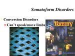 somatoform disorders2